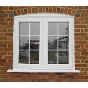 White High Quality UPVC Window
