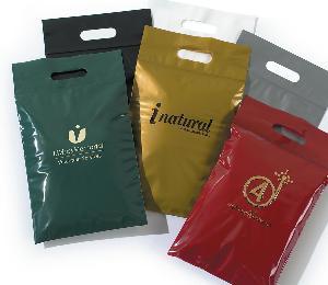 LDPE Printed D Cut Bags