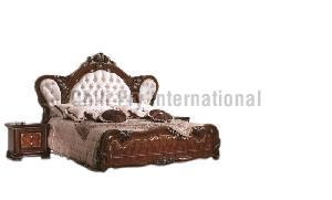 CFI-5604 Wooden Double Bed