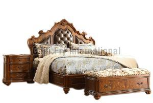 CFI-5610 Wooden Double Bed