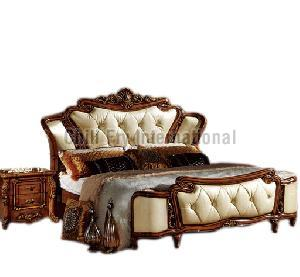 CFI-5622 Wooden Double Bed