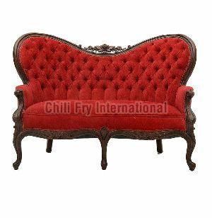 Rosewood made Butterfly Style Culted Back 3 Seater