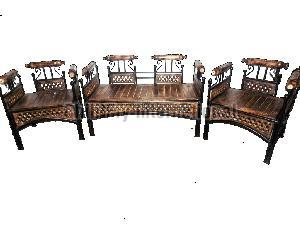 Iron Folding Sofa Set