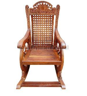 Wooden Rocking Chair 01