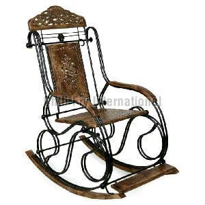 Wooden Rocking Chair 04