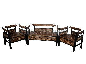 Wrought Iron & Wooden Furniture 02