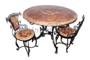 Wrought Iron & Wooden Furniture 03