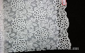 3D Embroidered Fabric 01