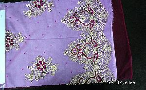3D Embroidered Fabric 02