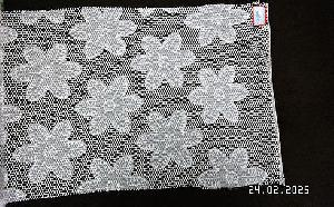 3D Embroidered Fabric 04