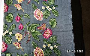 3D Embroidered Fabric 07