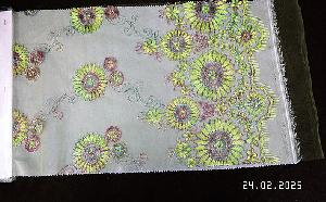 3D Embroidered Fabric 08