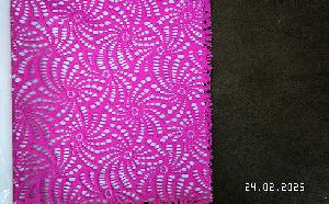 3D Embroidered Fabric 11