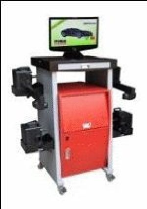 Computerised Wheel Alignment Machine