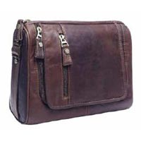 Designer Brown Leather Bag