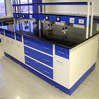 Laboratory Island Bench - 002