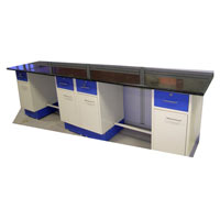 Laboratory Wall Bench - 001
