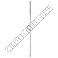 Glass Door Handle (OGHL-55-2P-A-25x2200)