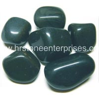 Black Polished Pebble Stone