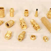 Brass Turning Component