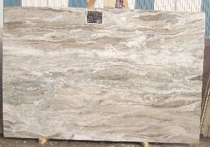 Brown Fantasy Marble 09
