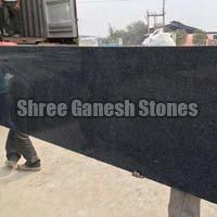 Rajasthan Black Granite Slabs 01