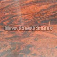 Red Multi Granite Slabs 02