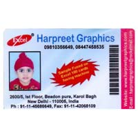 PVC Fused ID Promotional Cards