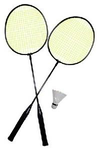 Skill Badminton Racket Set