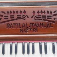 Portable 3 Line 3.5 Octaves Harmonium Without Scale Change - 1