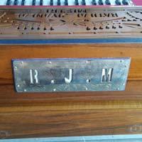 Portable 4 Line 13 Scale  Harmonium With Coupler - 1