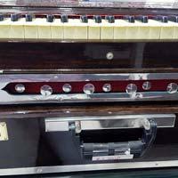 Portable 2 Line 3.5 Octaves (Double Reeds) Harmonium - 2