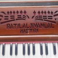 Portable 3 Line 3.5 Octaves Harmonium Without Scale Change - 1