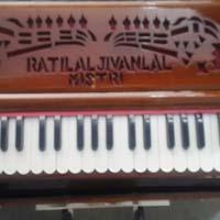 Portable 3 Line 3.5 Octaves Harmonium Without Scale Change - 3