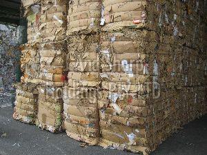 Old Corrugated Paper Scrap