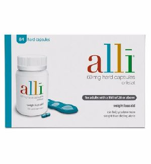Alli Weight Loss Aid Capsules