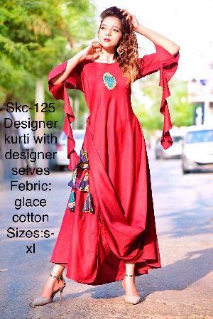 Skc-125 Designer Kurti