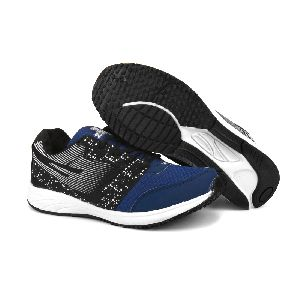 8004 ZRIX Mens Black & Blue Shoes 03