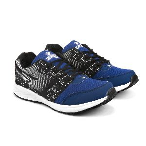 8004 ZRIX Mens Black & Blue Shoes 05