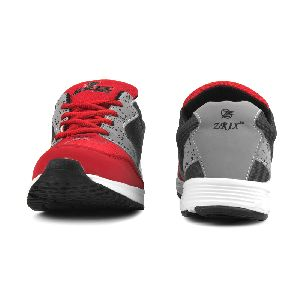8004 ZRIX Mens Grey & Red Shoes 02