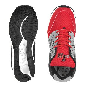 8004 ZRIX Mens Grey & Red Shoes 05