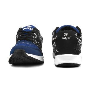 8004 ZRIX Mens Black & Blue Shoes 01