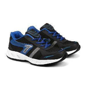 Mens Black & Blue Shoe 01