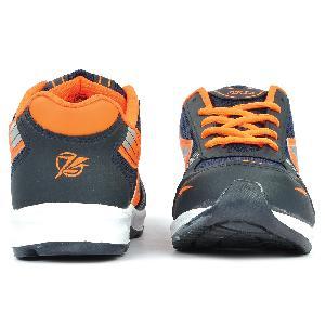 Mens Black & Orange Shoe 01