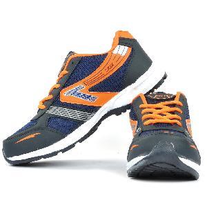Mens Black & Orange Shoe 02