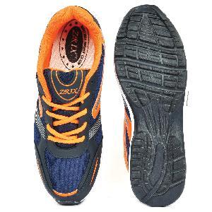 Mens Black & Orange Shoe 03