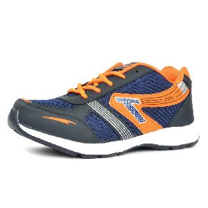 Mens Black & Orange Shoe 05
