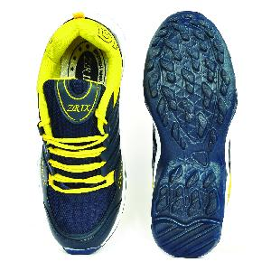 Mens Blue & Yellow Shoes 04