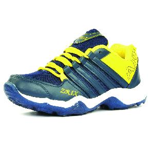 Mens Blue & Yellow Shoes 06