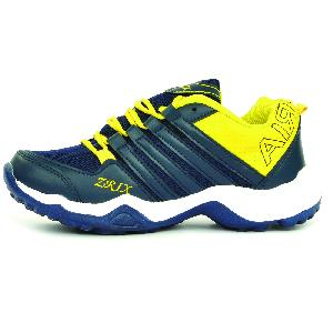 Mens Blue & Yellow Shoes